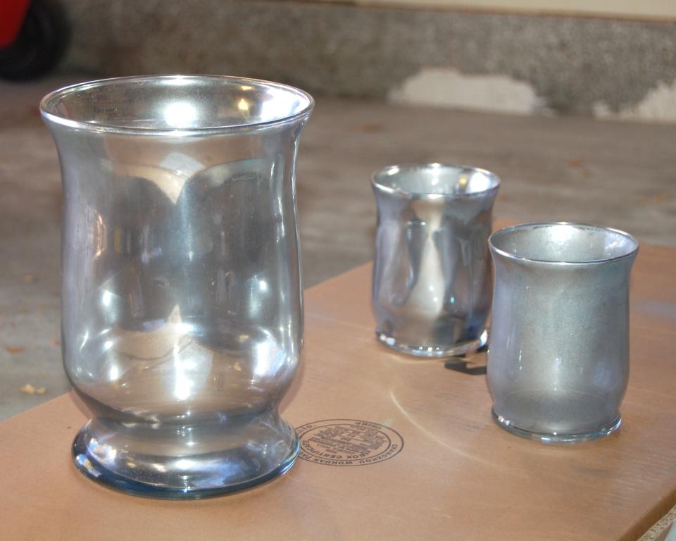 Diy Mercury Glass A Plum Perfect Affair